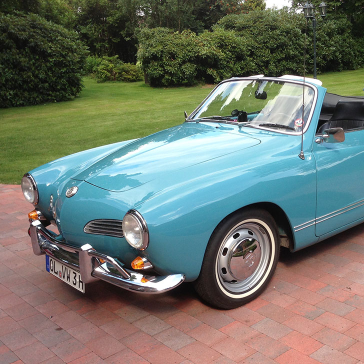 VW Karmann Ghia Cabrio Export, 1968